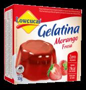Gelatina Morango Zero Açúcar 10g - Lowçúcar