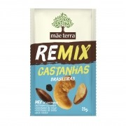 Remix Castanhas Brasileiras 25g - Mãe Terra