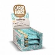 Tablete de Alfarroba com Flocos de Arroz Integral Sem Açúcar 11g x 16 - Carob House