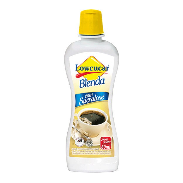 Adoçante Blenda com Sucralose 80ml - Lowçucar