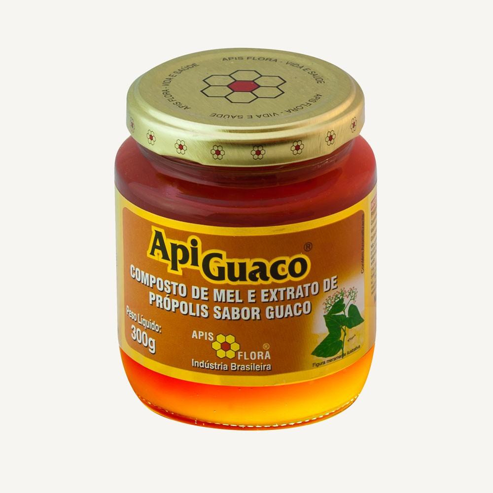 ApiGuaco Mel e Extrato de Própolis sabor Guaco 300g - Apis Flora