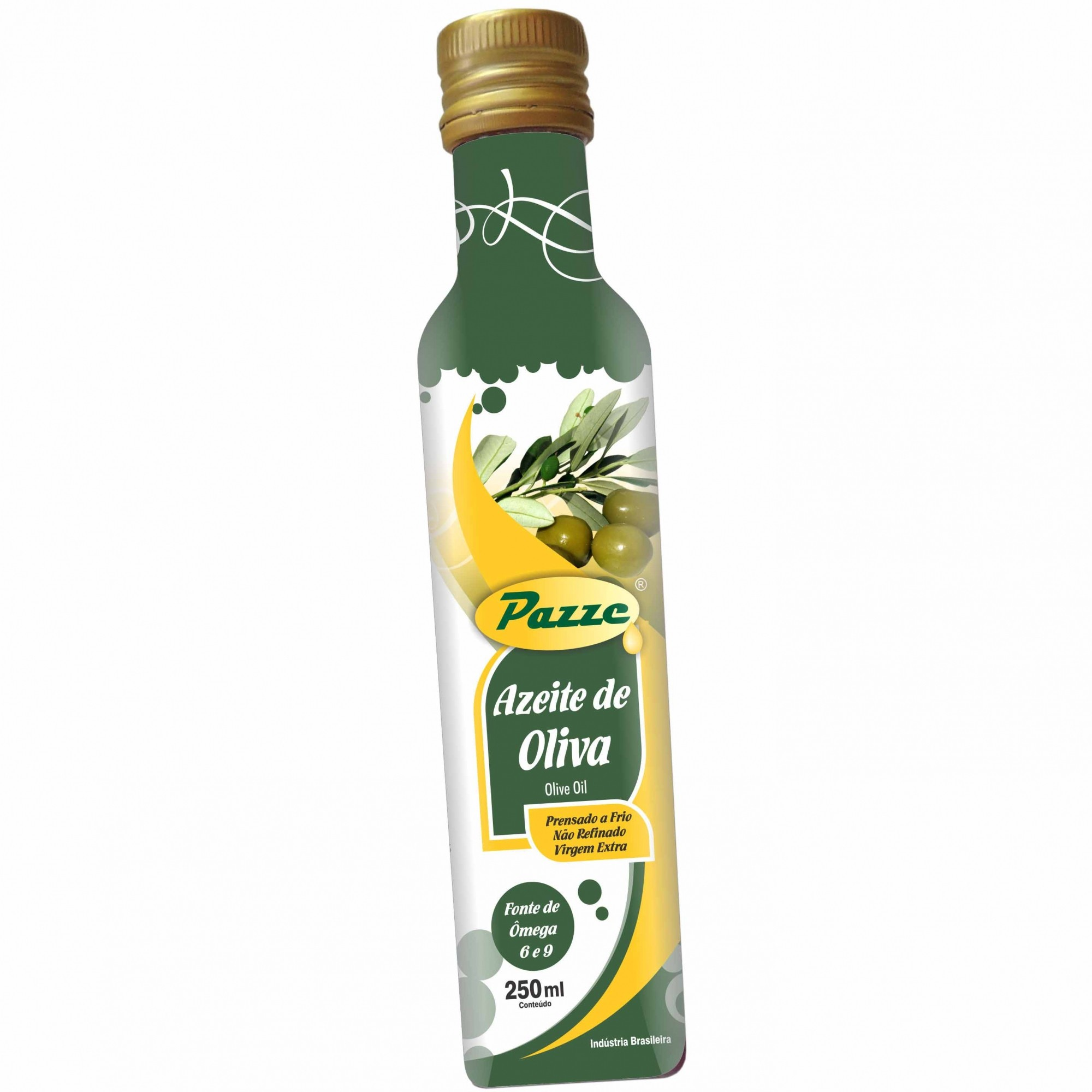 Azeite de Oliva Extra Virgem 250ml - Pazze