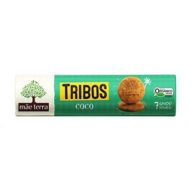 Biscoito Tribos Orgânico e Integral Coco 130g - Mãe Terra