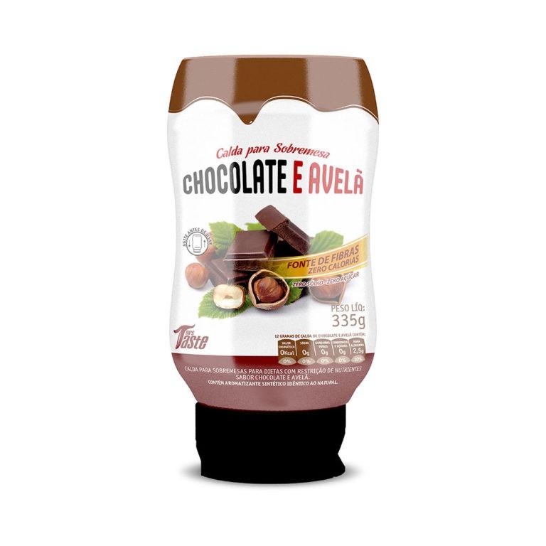 Calda de Chocolate e Avelã Zero 335g - Mrs Taste