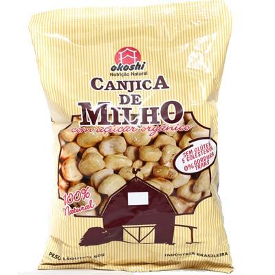 Canjica de Milho com Açúcar Orgânico 0% Gordura trans 50g - Okoshi