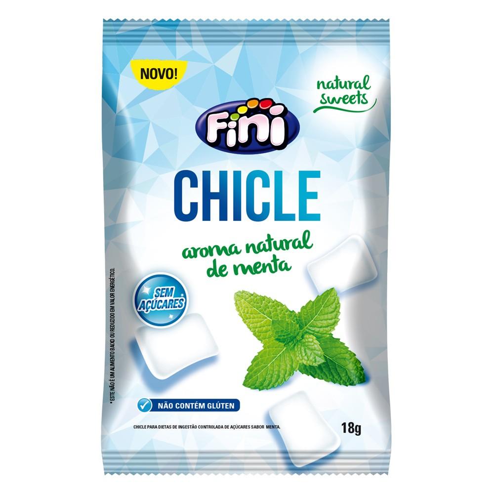 Chiclete Zero Açúcar com Xilitol 18g - Fini