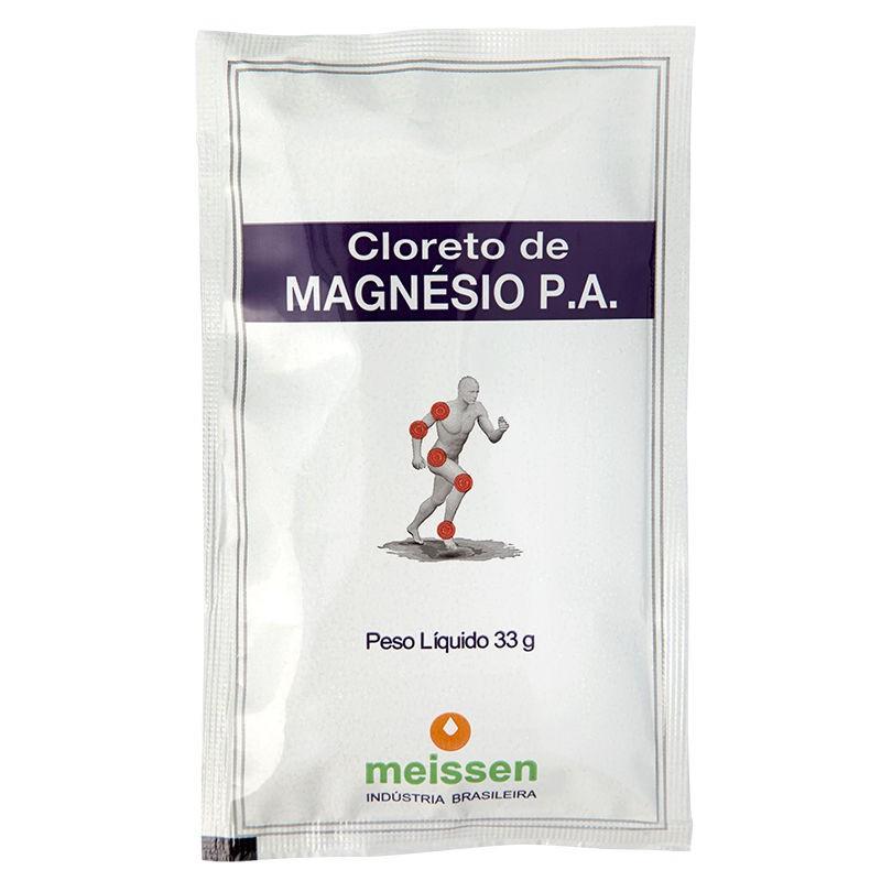 Cloreto de Magnésio P.A. 120mg Sachê 33g - Meissen