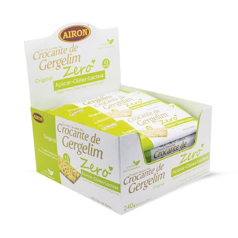 Crocante de Gergilim Zero Açúcar 240g - Airon