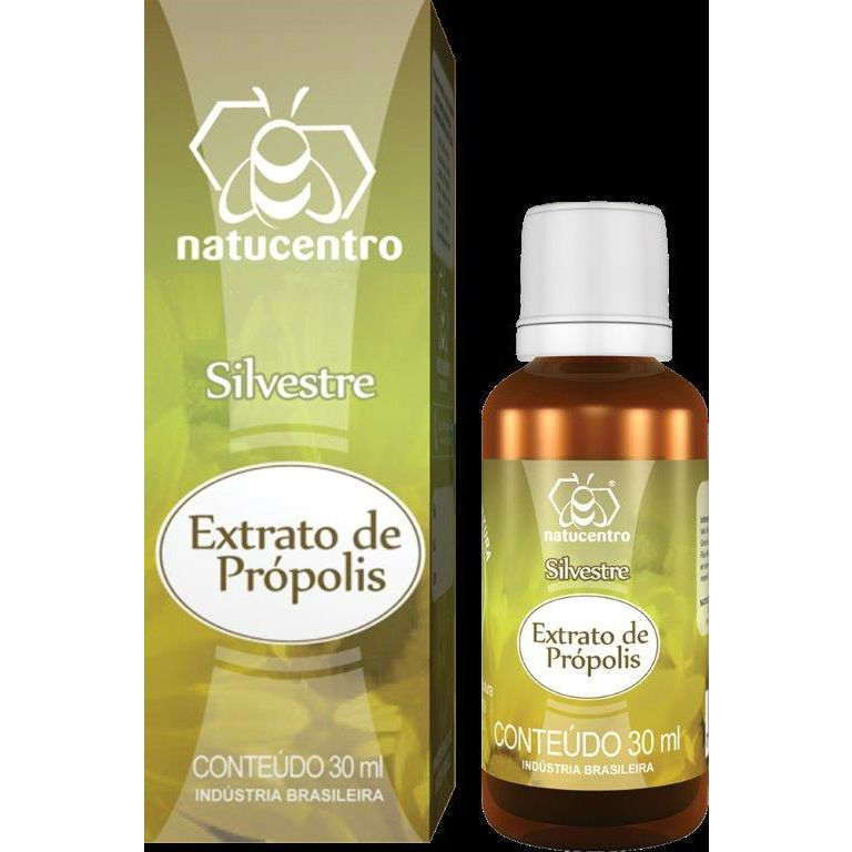 Extrato de Própolis Silvestre 30ml - Natucentro