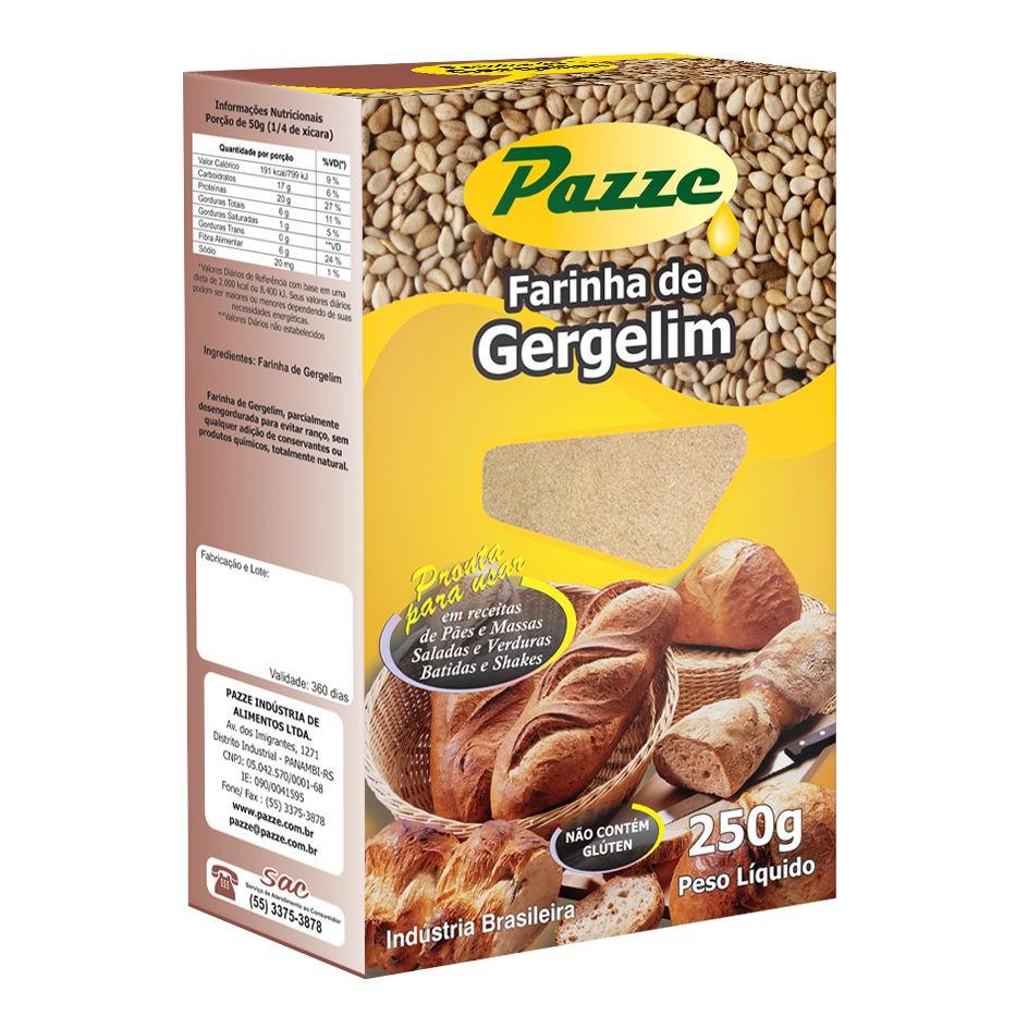 Farinha de Gergelim 250g - Pazze