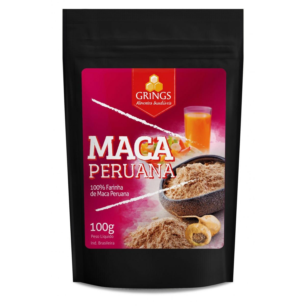 Farinha de Maca Peruana 100g - Grings