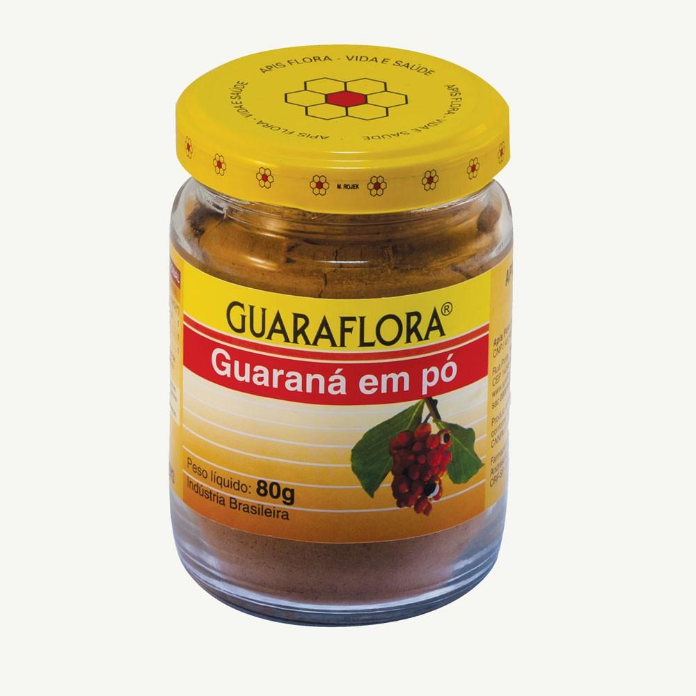 Guraflora Guaraná em Pó 80g - Apis Flora