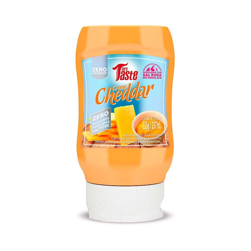 Molho Creme Cheddar 237g - Mrs Taste
