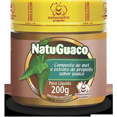 NatuGuaco Composto de mel e Extrato de Própolis sabor Guaco 200g - Natucentro