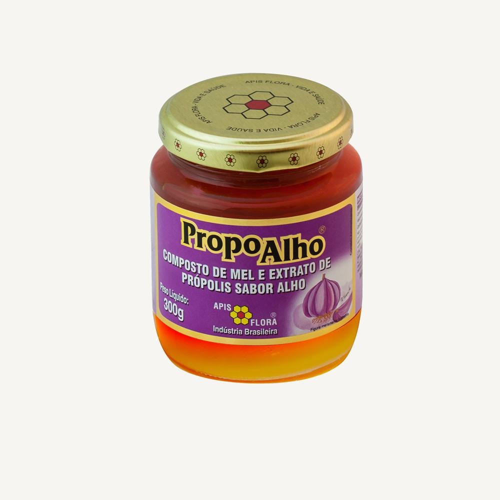 PropoAlho Mel e Extrato de Própolis sabor Alho 300g - Apis Flora