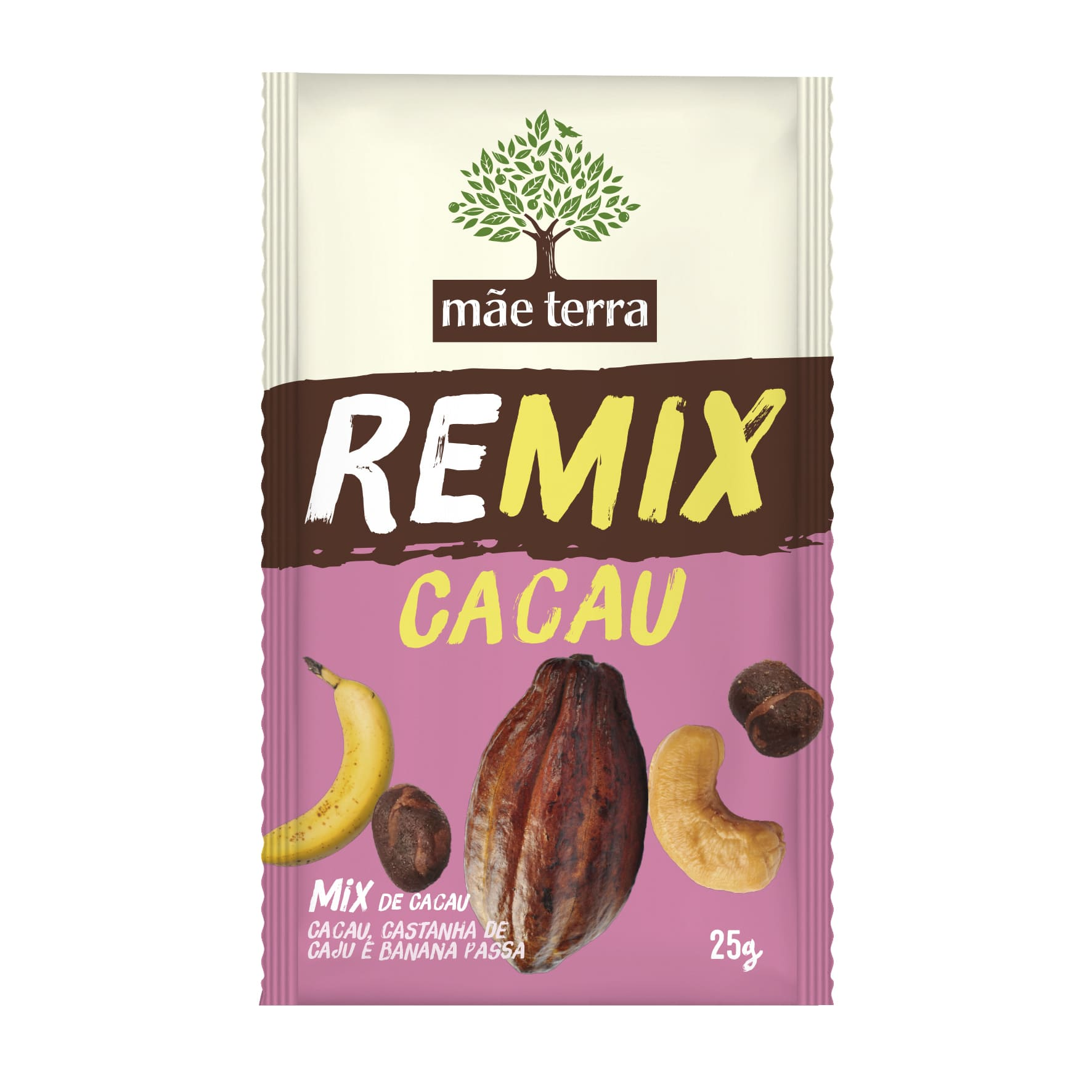 Remix Cacau 25g - Mãe Terra