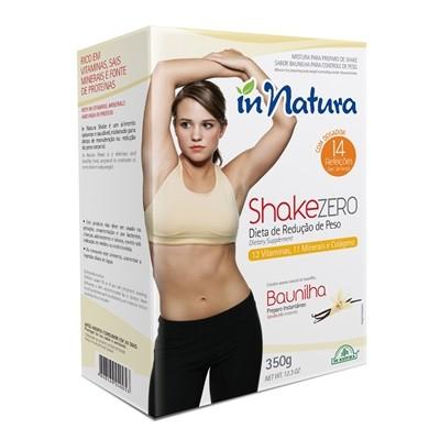 Shake Zero Baunilha 350g - In Natura