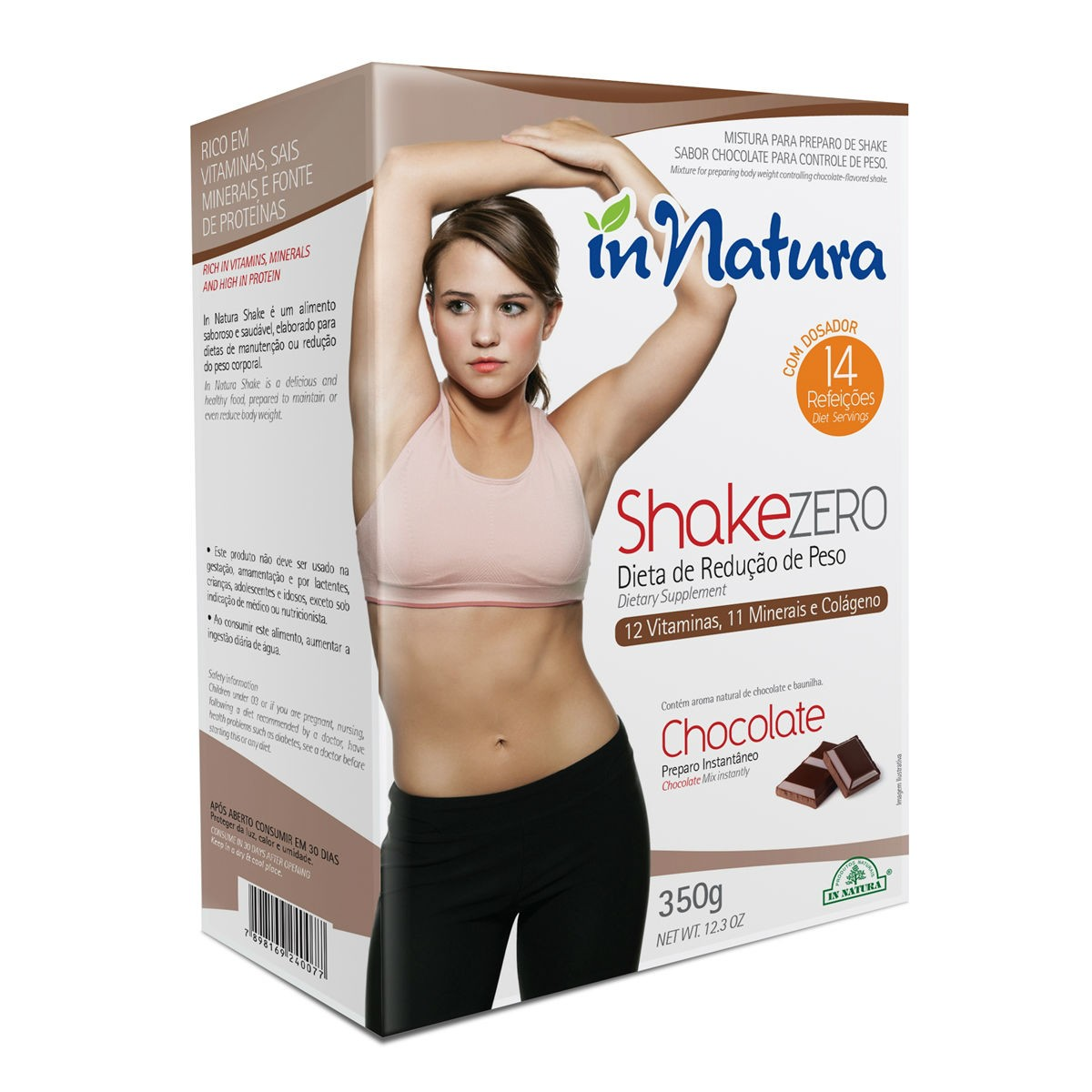 Shake Zero Chocolate 350g - In Natura