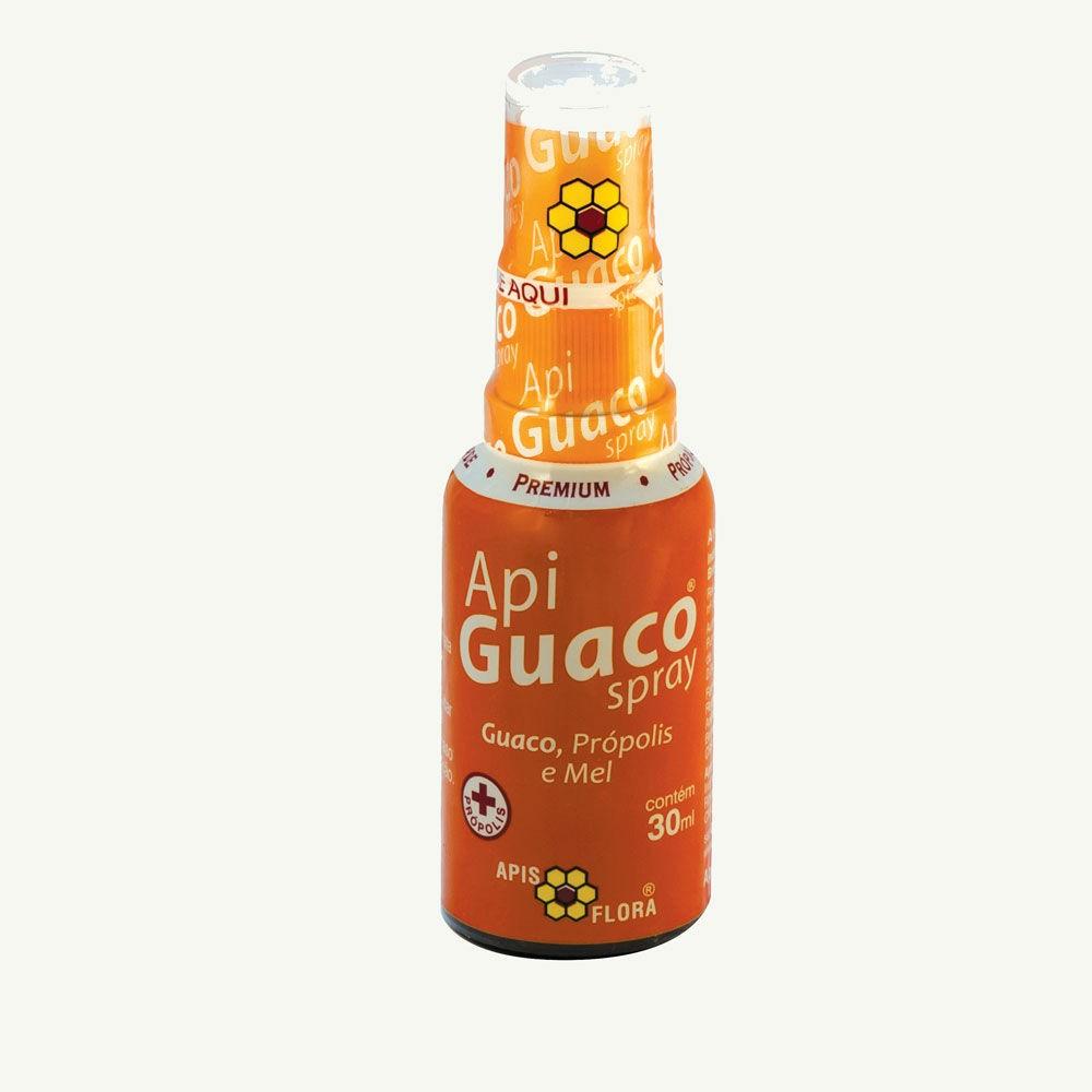 Spray ApiGuaco Guaco, Própolis e Mel 30ml - Apis Flora