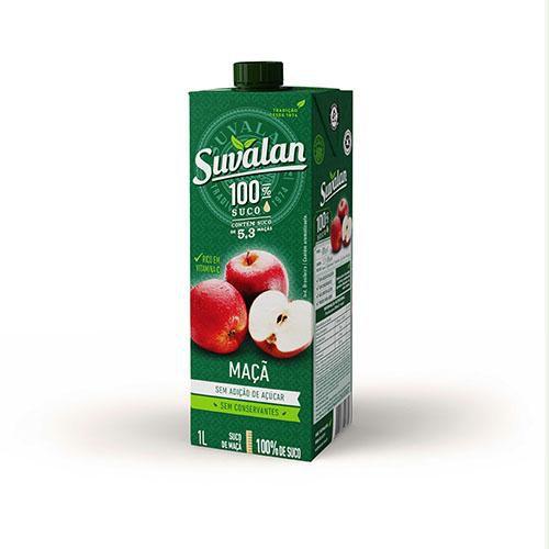 Suco 100% Maçã 1L Sem Adição de Açúcar - Suvalan