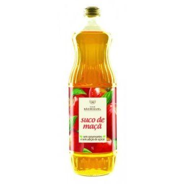 Suco de Maçã Sem Açúcar 500ml - São Miguel