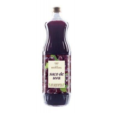 Suco de Uva Sem Açúcar 1L - São Miguel