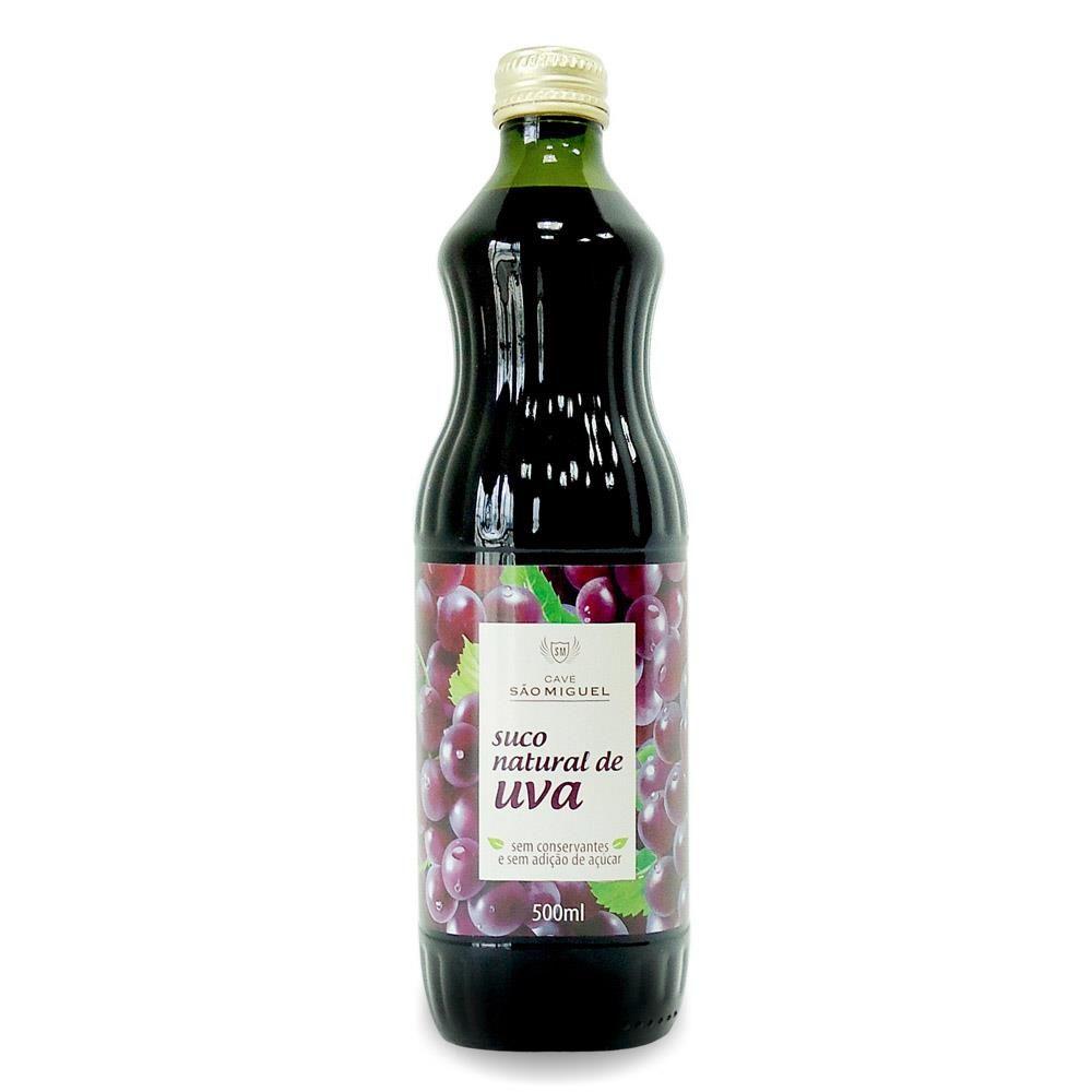Suco de Uva Sem Açúcar 500ml - São Miguel