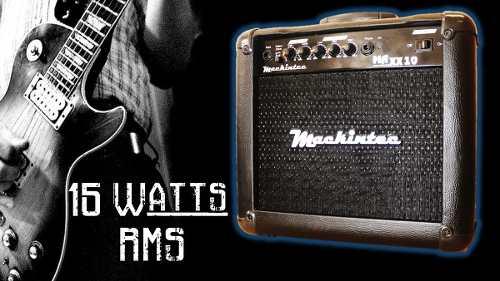 Cubo De Violão e Guitarra Maxx 15 Mackintec