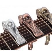 Capotraste Braçadeira para Violão E Guitarra Alice- personalizado com caveira