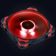 COOLER FAN PARA GABINETE 120MM FURY F5 LED VERMELHO - F5120LDVM