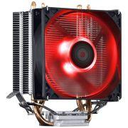 COOLER PARA PROCESSADOR ZERO K Z2 92 MM LED VERMELHO - ACZK292LDV