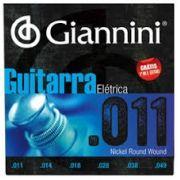 ENCORDOAMENTO PARA GUITARRA ELÉTRICA GEEGST 11 - .011-.049