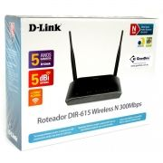 Roteador Wireless 300Mbps DIR-615 Preto D-LINK