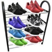 Sapateira Prateleira Até 8 Pares De Sapatos Multiuso Estante