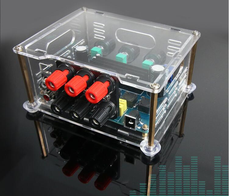 Amplificador de som 2.1 de 200 Watts