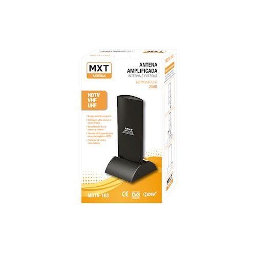 Antena Mxt Hdtv/Vhf/Uhf Interna E Externa – Mdtv-163