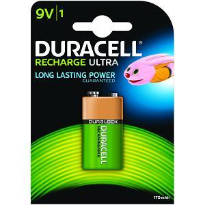 Bateria Duracell 9v 170mah Ultra Recarregável