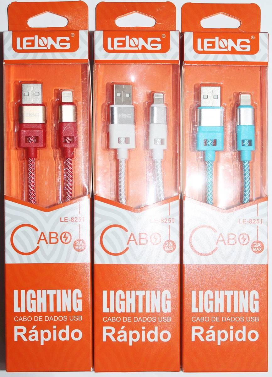 Cabo Lightning para USB 1 metro