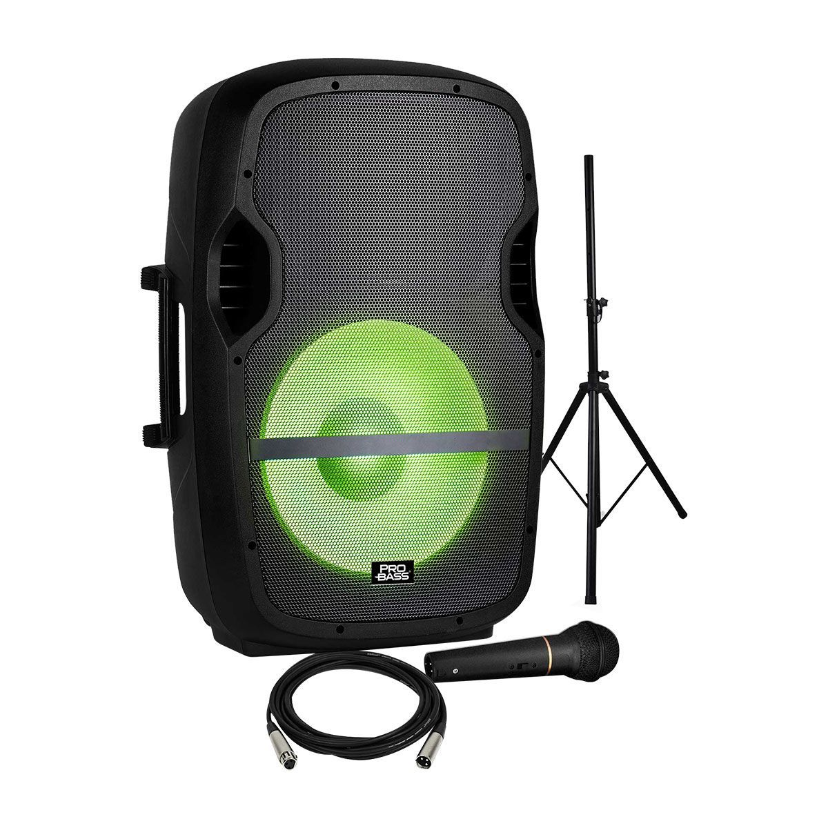 Caixa Ativa 15 Polegadas Pro Bass Elevate LP 800 Watts