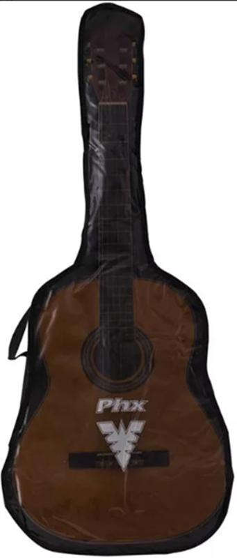 Capa para violão clássico frente transparente