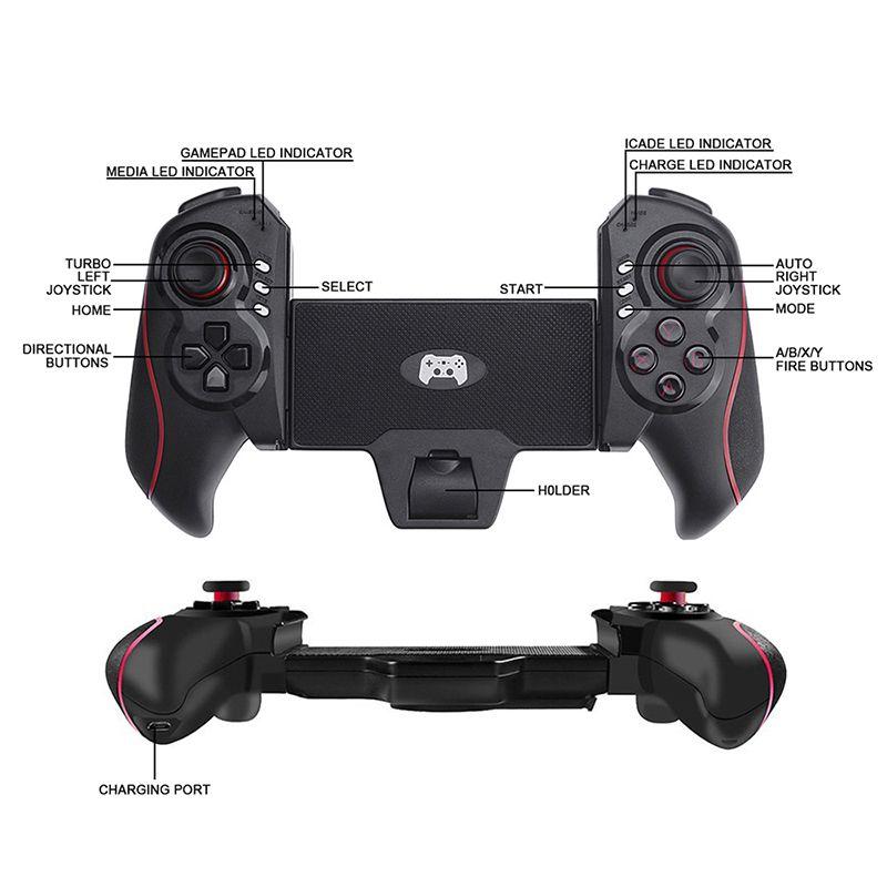 Controle Tablet Celular Ipad Joystick Bluetooth Ipega Btc938