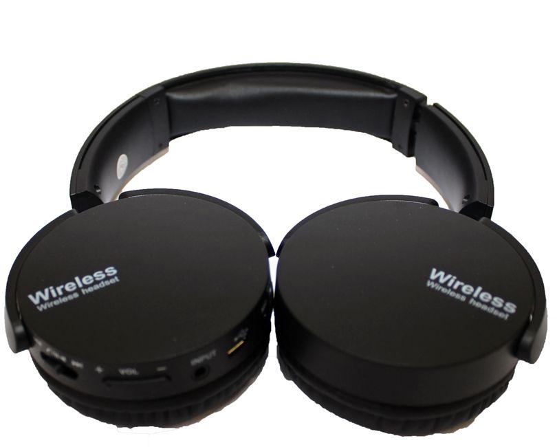 Fone De Ouvido Estéreo Sem Fio Extra Bass Bluetooth Preto