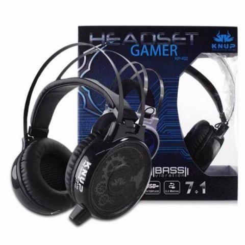 Fone De Ouvido Headset Gamer 7.1 Usb P2 Kp-402