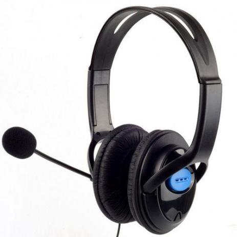 Fone Headset Gamer Fone Para Playstation 4 Ps4 Com Microfone