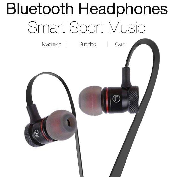 Fone Ouvido Headset Bluetooth 4.1 Sem Fio Stereo Magnético