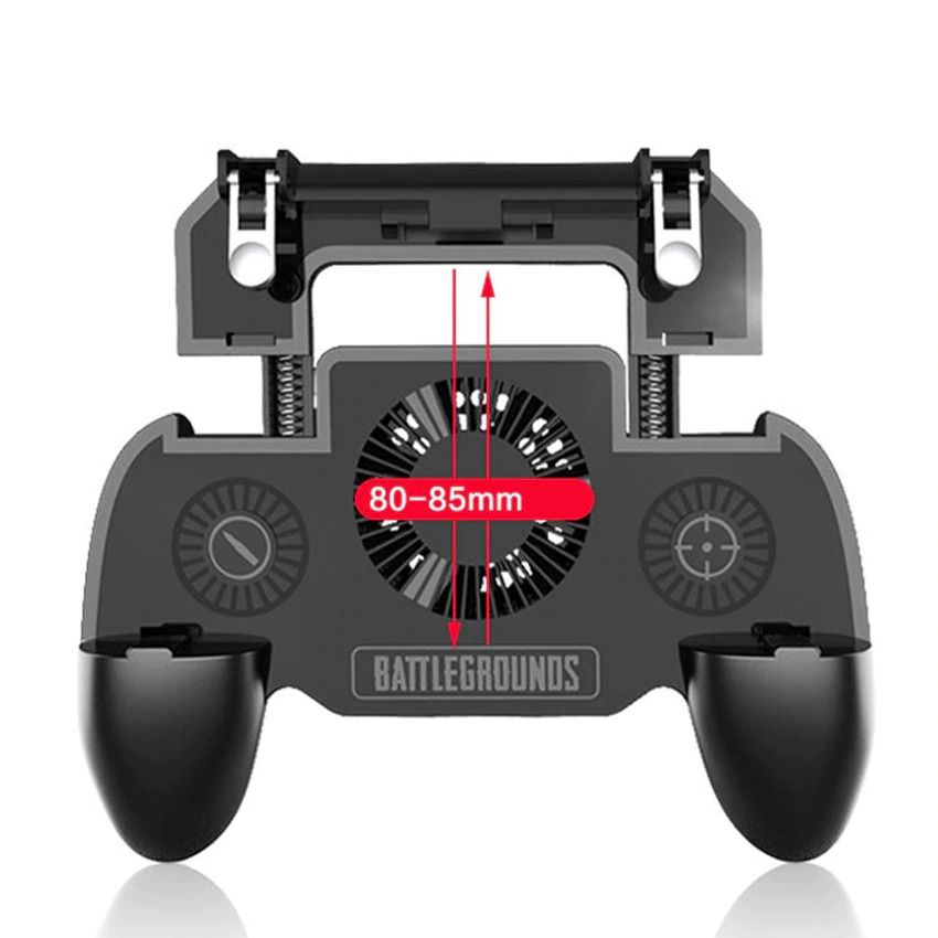 Gamepad Sr - Powerbank 2000 Mah, Gatilho Pubg Sr C/cooler