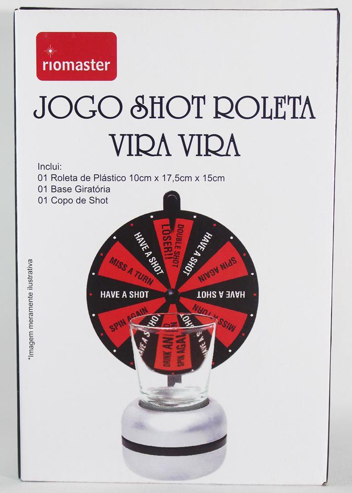 Jogo Shot Roleta vira vira