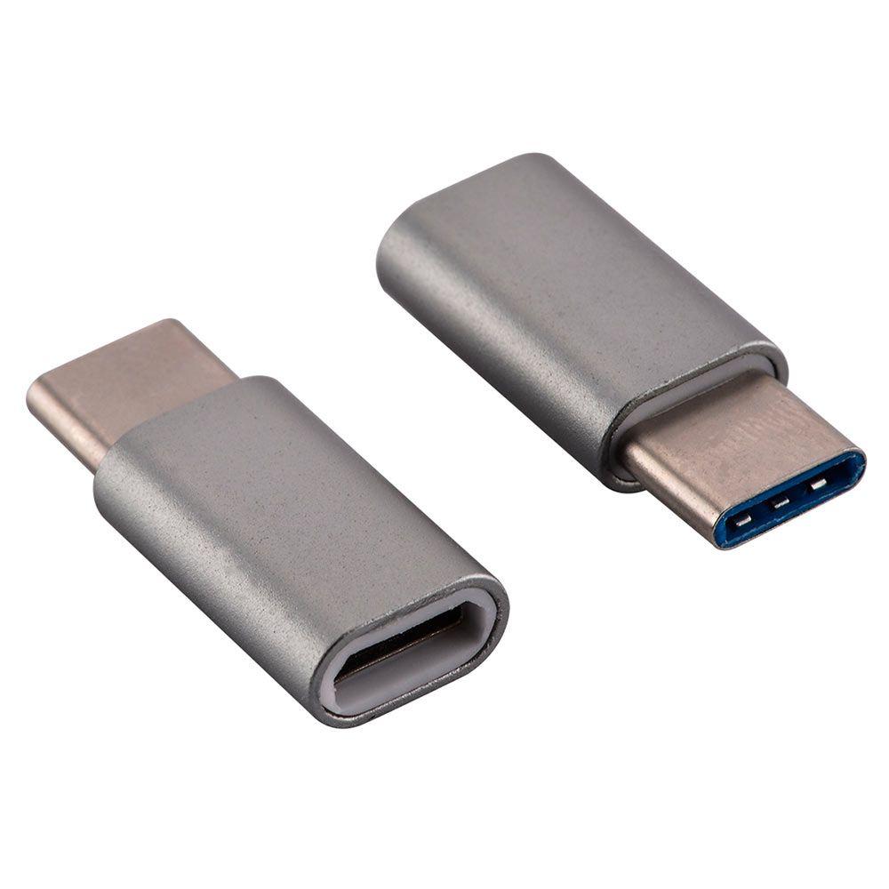 KIT 10 ADAPTADOR OTG MICRO USB PARA USB TIPO C 3.1