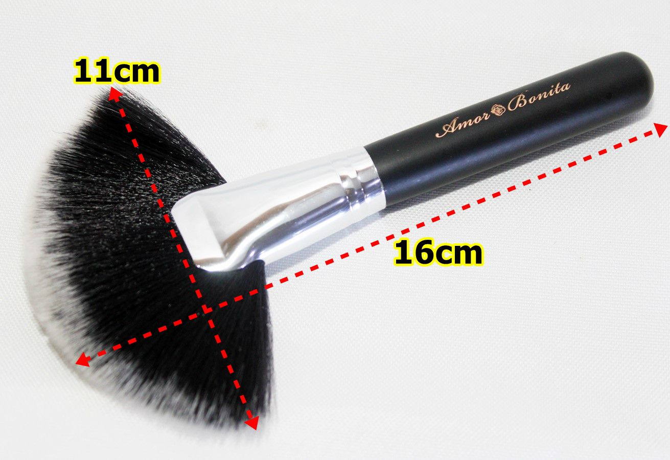 Kit de pinceis profissionais de maquiagem da Amor Bonita 6 peças