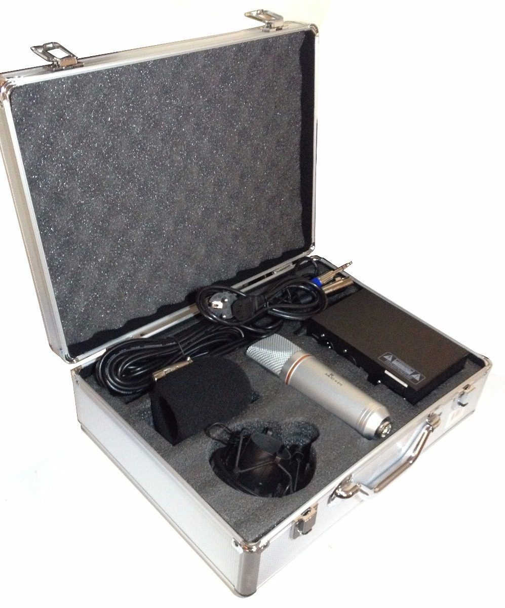 Kit microfone condensador completo